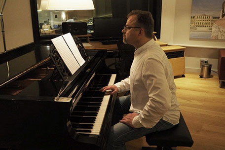 Ralf Wengenmayr in the Composer's Lounge